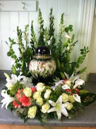 Funeral Flower Bouquets - 93 best urn flowers images on pinterest funeral flowers