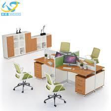 Bureau Desk Modern China Office Computer Desk With Partition Wholesale Alibaba