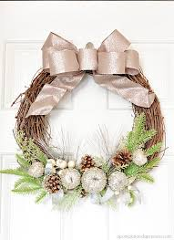 Holiday Wreath Glitter Holiday Wreath A Pumpkin And A Princess
