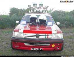 peugeot pre owned peugeot 205 gti 1600 1 series group a htp j1 rally cars for