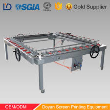 Stretching Table by List Manufacturers Of Stretching Machine For Screen Printing Buy