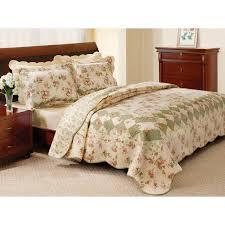 Antique Rose Comforter Set Better Homes And Gardens Quilt Collection Vintage Walmart Com