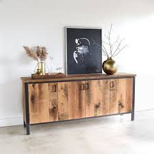 modern reclaimed wood storage buffet what we make