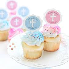 personalized cupcake toppers personalized cupcake picks personalized religious cupcake toppers