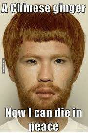 Chinese Meme Face - a chinese ginger no i can die in peace chinese meme on me me