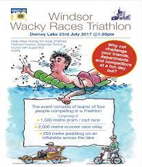 wacky races windsor wacky races 2017 news slough rfc