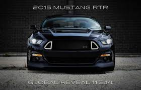 mustang rtr 2014 2015 ford mustang rtr teased once again ahead of 2014 sema debut
