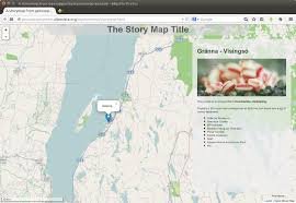 Story Maps Digital Geography