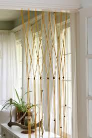 easy macrame bead curtain using yarn the wicker house