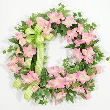 petunia sunrise spring wreath wreaths unlimited