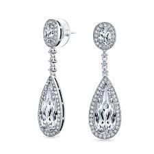 Black And Silver Chandelier Earrings Decorations Sweet Chandelier Earrings In Beautiful Design Style