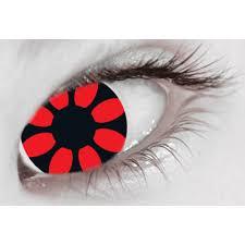 extreme eyez crazy daisy scary contact lenses halloween