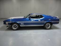 ford mustang mach 2 for sale 1971 ford mustang mach 1 restored 78k hurst shifter 351