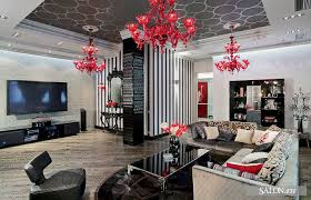 Gray And Red Living Room Ideas by Red Living Room Interior Design Ideas Red Living Room Decor