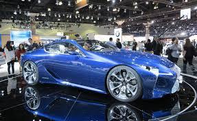 2012 lexus lf lc lexus lf lc blue concept lands in america 2012 la auto