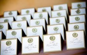 unique wedding card interesting place card ideas for