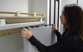 comment poser une porte de chambre installer porte de placard étourdissant comment poser des portes de