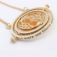 hermione necklace time images Harry potter hermione 39 s gold time turner pendant allthingscharmed jpg