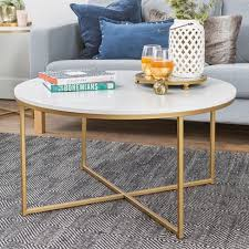 marlton round coffee table threshold coffee table with x base saracina home target