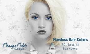 change eye color and hair color hair highlights android apps on