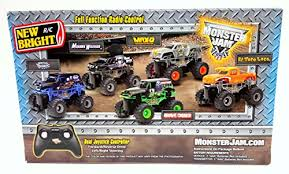 bright rc radio control monster jam truck mohawk warrior 1 43