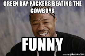 Funny Green Bay Packers Memes - green bay packers beating the cowboys funny black guy laughing