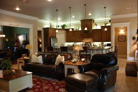 open concept kitchen living room designs one big open norma budden