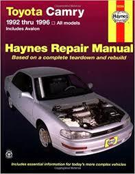 1993 toyota camry repair manual toyota camry automotive repair manual all toyota camry and avalon