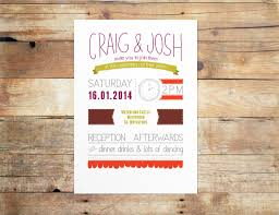 wedding invitation designs off the shelf