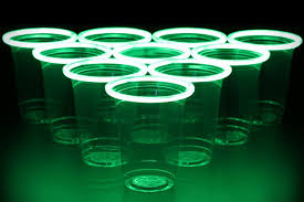 glow in the cups glowpong glow in the pong hiconsumption