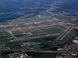 Map Of Airports Usa by Dallas Fort Worth International Airport Wikipedia