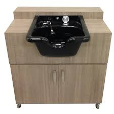 Portable Sink Depot Portable Shampoo Sink Hot  Cold Water - Kitchen sink portable