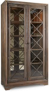 hooker furniture dining room sattler display cabinet 5960 75906 multi