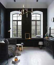 black and white interiors designs by style small apartment interior architecture 2