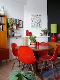 Red Dining Room Chair by Decorate Your Home With The Colour Red