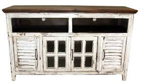 antique white tv cabinet best 15 of rustic white tv stands