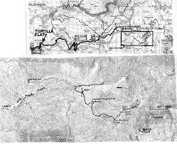 Fall Creek Falls Map Superstition Reavis Falls Hike Map