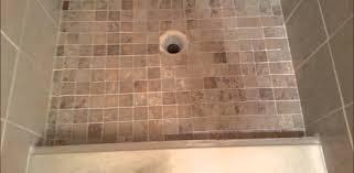 Installing Tile In Shower Shower Redi Tile Shower Pan Installation Beautiful Installing