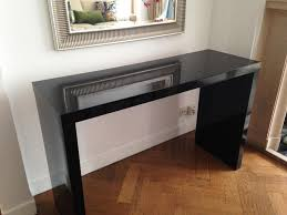 Black Vanity Table Ikea Ikea Malm Dressing Table Black For Sale Ohio Trm Furniture
