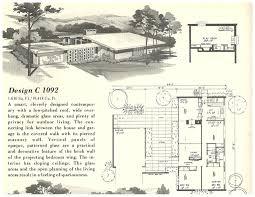 1950s ranch house floor plans 1950s mid century modern house plans books house plans