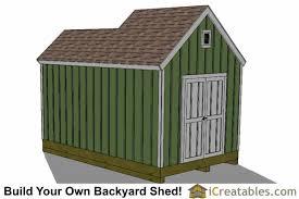 Garden Shed Plan 10x8 6x8 Garden Shed Plans