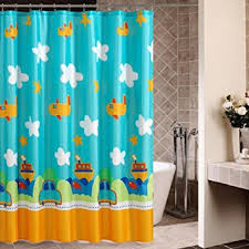 Childrens Shower Curtain Drying Curtains High Grade Children S Shower Curtain