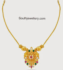 light chain necklace images Light weight gold necklace jewellery designs jpg
