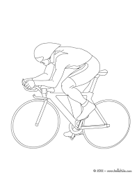 print out and color this track cycling sport coloring page more