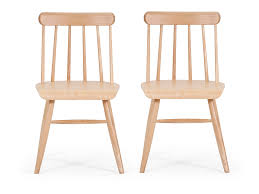 scandinavian design natural ash wood dining chairs