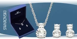 swarovski necklace set images New swarovski necklace earring set called the crystal brilliance jpg