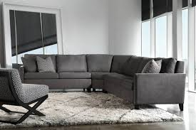 sofa gray leather sectional gray reclining sectional small grey