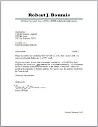 best how to write a cover letter for a short story 93 about