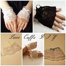 wrist cuff bracelet images Lace wrist cuffs diy jpg