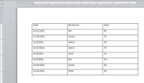 change word u0027s default table properties to suit the way you work